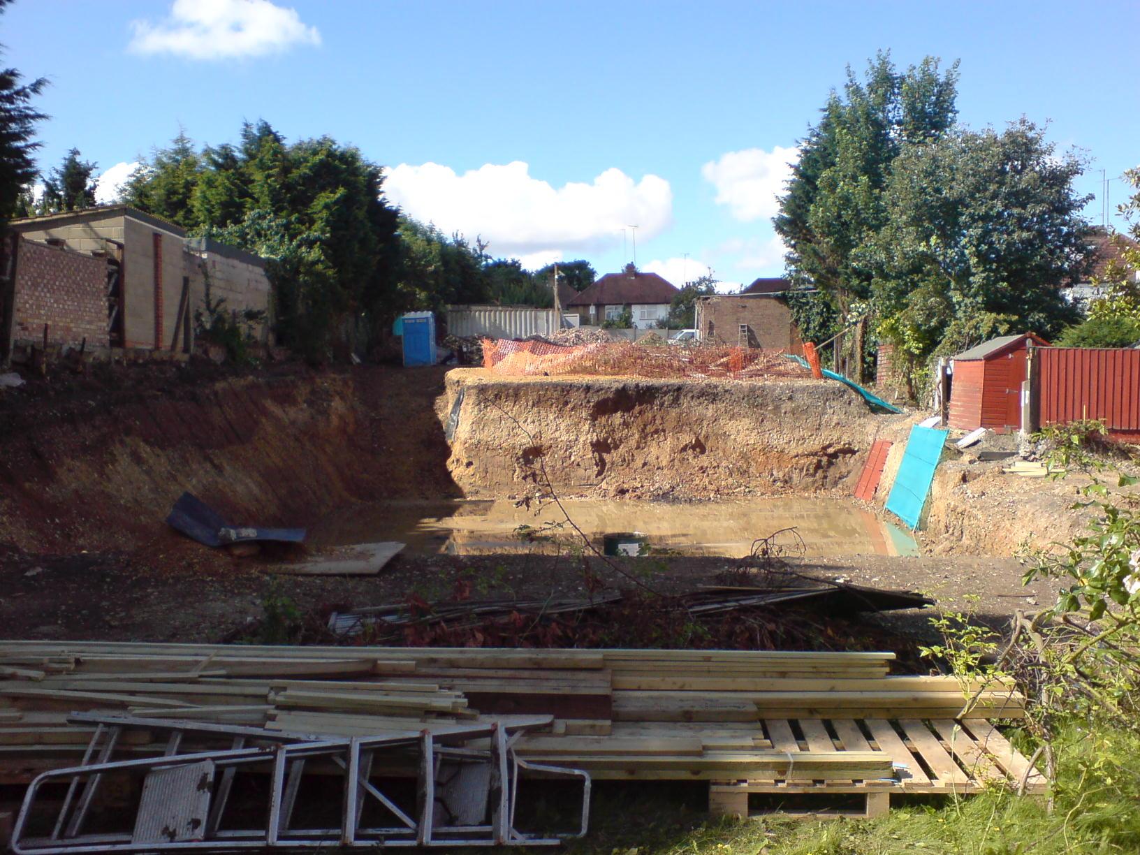 Civil Engineering Churches : Excavation